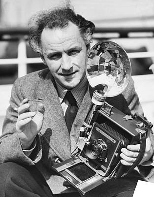 Director Photograph - Movie Director Arnold Franck by Underwood Archives