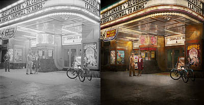 War Bonds Photograph - Movie - Double Feature 1942 - Side By Side by Mike Savad