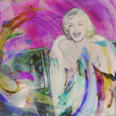 Movie Icons - Marilyn Monroe Iv Art Print