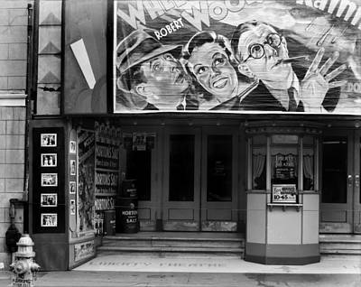 Movie Theater On Saint Charles Street Art Print by Everett