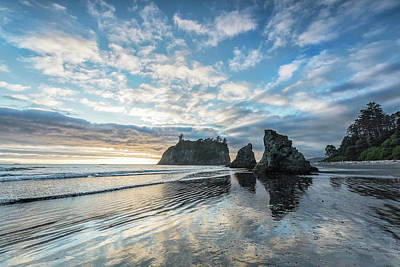 Olympic National Park Photograph - Moving But Still by Jon Glaser