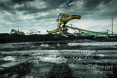 Photograph - Moving Coal by Miles Whittingham