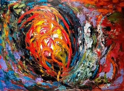 Painting - Moving Energy by Nicolas Bouteneff