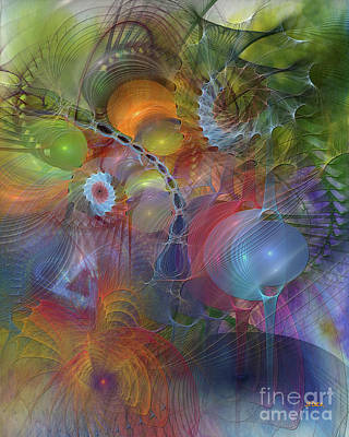 Digital Art - Moving Forward by John Beck