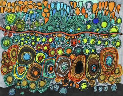 Drawing - Moving Forward by Sandra Church