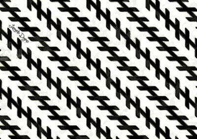 Perception Digital Art - Moving Illusion - Da by Leonardo Digenio