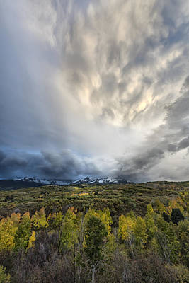 Photograph - Moving In The San Juans by Jon Glaser