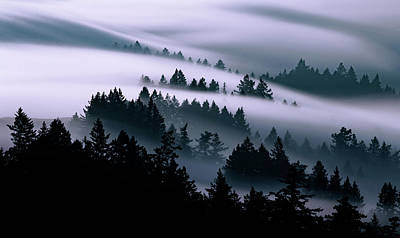 Fog Photograph - Moving, Just Keep Moving by Vincent James