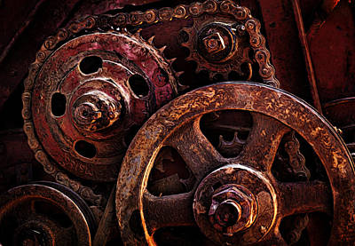 Photograph - Moving Parts by Mary Jo Allen