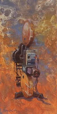 Camera Wall Art - Painting - Moving Picture Machine by Cody DeLong
