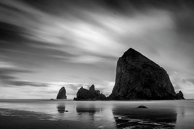 Photograph - Moving Skies Over Cannon Beach by Andrew Soundarajan