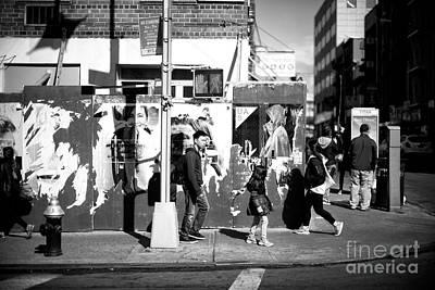 Photograph - Moving Through The Shadows by John Rizzuto