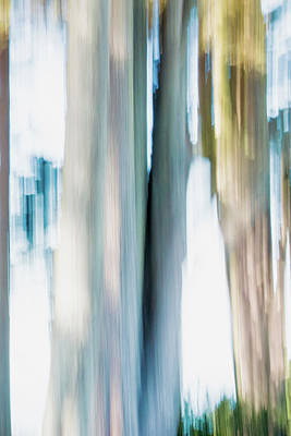 Digital Art - Moving Trees 21 Carry-on Portrait Format by Gene Norris