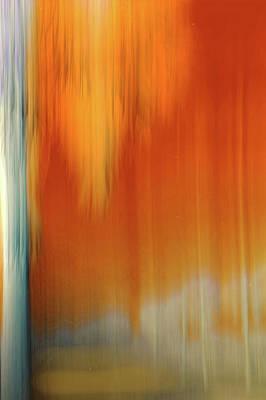 Digital Art - Moving Trees 37-13portrait Format by Gene Norris