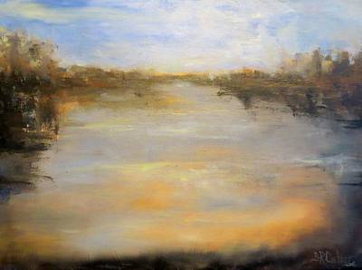 Painting - Moving Up Stream by Sandra Reeves