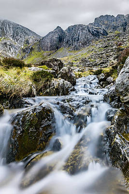 Photograph - Moving Water by Nick Bywater