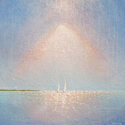 Contemporary Seascape Art Painting - Moving With Spirit by Jaison Cianelli