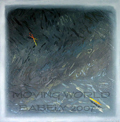 Painting - Moving World by Saadi Babely