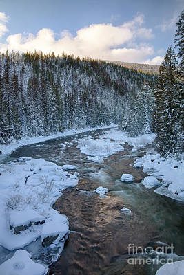 Photograph - Moyie Winter by Idaho Scenic Images Linda Lantzy