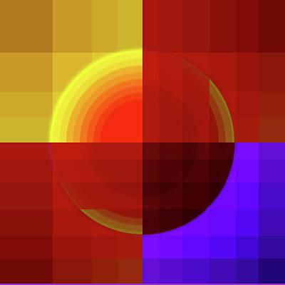Mozaic Digital Art - Mozaic by Diq