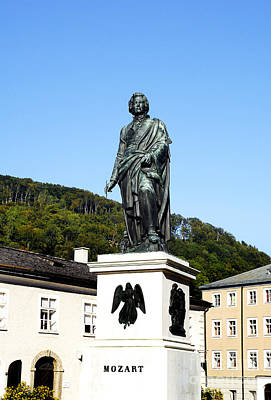 Photograph - Mozart In Salzburg by Brenda Kean