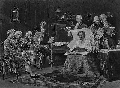 Pp-005 Mozart Singing His Requiem Original by Unknown