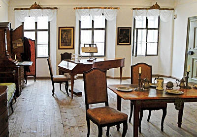 Photograph - Mozarts Geburtshaus Still Life by Robert Meyers-Lussier