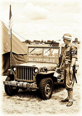 Photograph - Mp Soldier by Athena Mckinzie