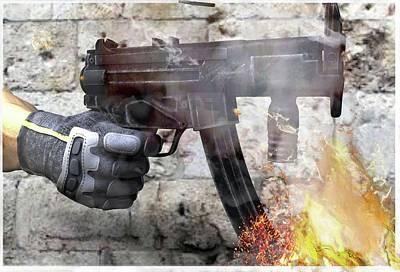 MP5 Art Print