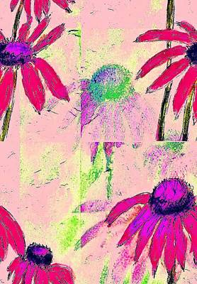 Mprints - Daisies 1 Art Print