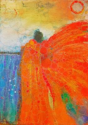 Painting - Mprints - Angel Of The Morning by M Stuart
