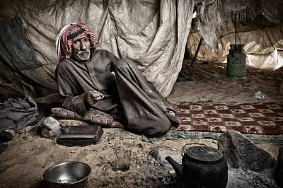 Bedouin Photograph - Mr Ali by Ben Mcrae