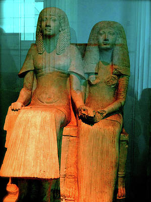 Photograph - Mr. And Mrs. Egypt by Ira Shander