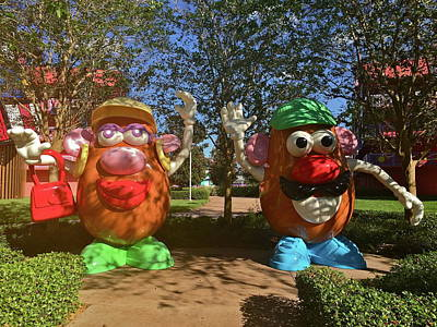Photograph - Mr And Mrs Potato Head by Denise Mazzocco