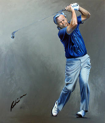 Painting - Mr Arnold Palmer by Mark Robinson
