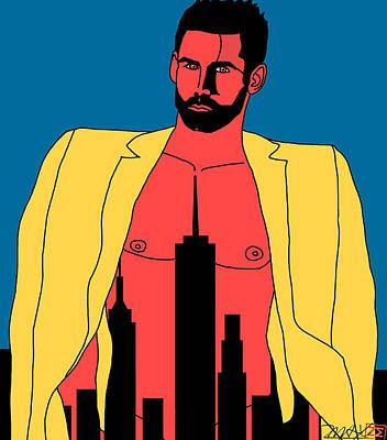 Painting - Mr. Big Apple by Zane  Maxwell