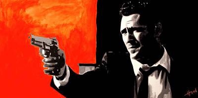 Free Painting - Mr Blonde by Hood alias Ludzska