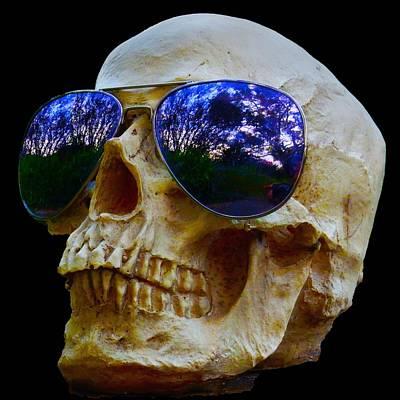 Photograph - Mr Bone by Mark Blauhoefer