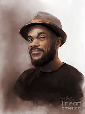 Digital Art - Mr. Brooks by Dwayne Glapion