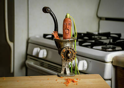 Photograph - Mr. Carrot  by Rick Mosher