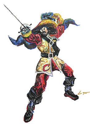 Mr. Cavalier Original by Patrick Geyser