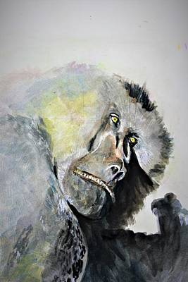 Painting - Mr Chief by Khalid Saeed