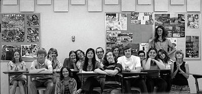 Photograph - Mr Clay's Ap English Class - Cropped by Jeremy Butler
