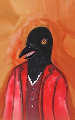 Mr. Crow's Portrait Art Print