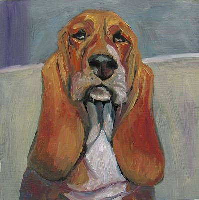 Painting - Mr. Distinguished by Susan  Spohn