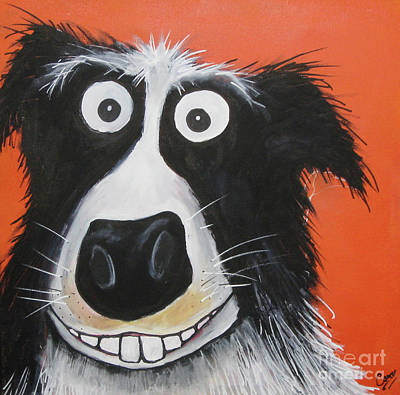 Painting - Mr Dog by Caroline Peacock