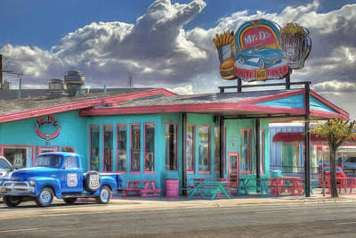 Photograph - Mr D'z Route 66 Diner by Donna Kennedy