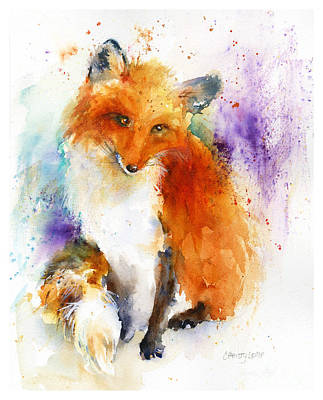 Painting - Mr. Fox by Christy Lemp