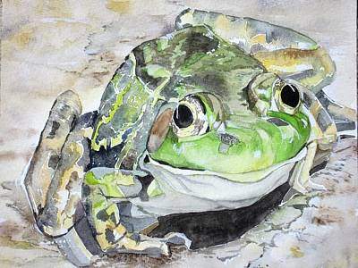 Mr Frog  Art Print