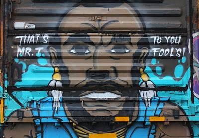 Photograph - Mr. Graffiti by Joseph C Hinson Photography